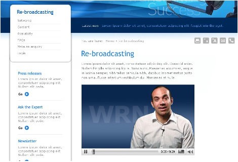 wrn-corporate Screenshot